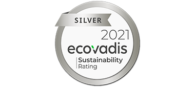 Image of the Ecovadis silver award 2021