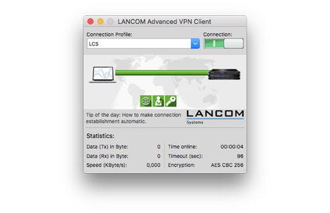 LANCOM Advanced VPN Client macOS