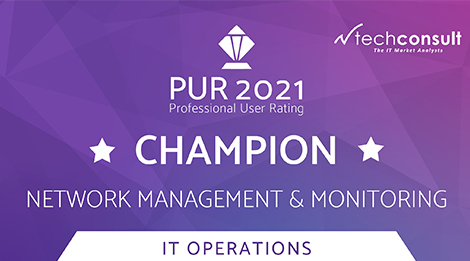 PUR Award for network management and monitoring