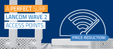 Price reduction: LANCOM Wave 2 access points