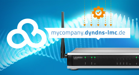 Visual of LANCOM LCOS 10.42 RC3 Dynamic DNS Feature for Public Cloud