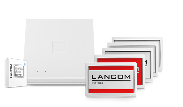 LANCOM Wireless ePaper Room Signage Set
