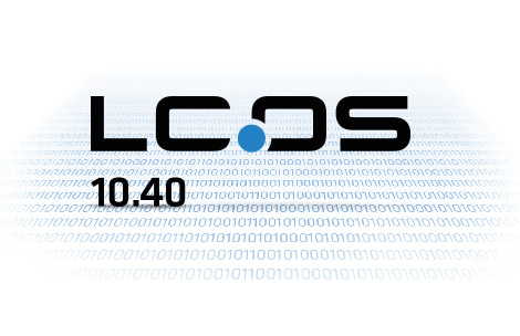 Logo of LANCOM operating system LCOS 10.40